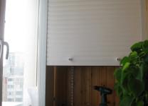 Мебельные рольставни для шкафа на балкон