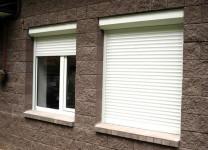 Рольставни на окна со скрытым (внутренним) монтажом
