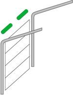 Наклонный монтаж секционных ворот