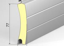 Наполнение откатных автоматических ворот - роллетный профиль