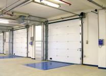 Промышленные подъемно-секционные ворота