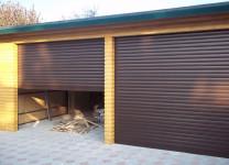Рольставни для гаража на даче