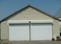 Рольставни для гаража с электроприводом