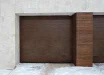 Секционные гаражные ворота от Алютех