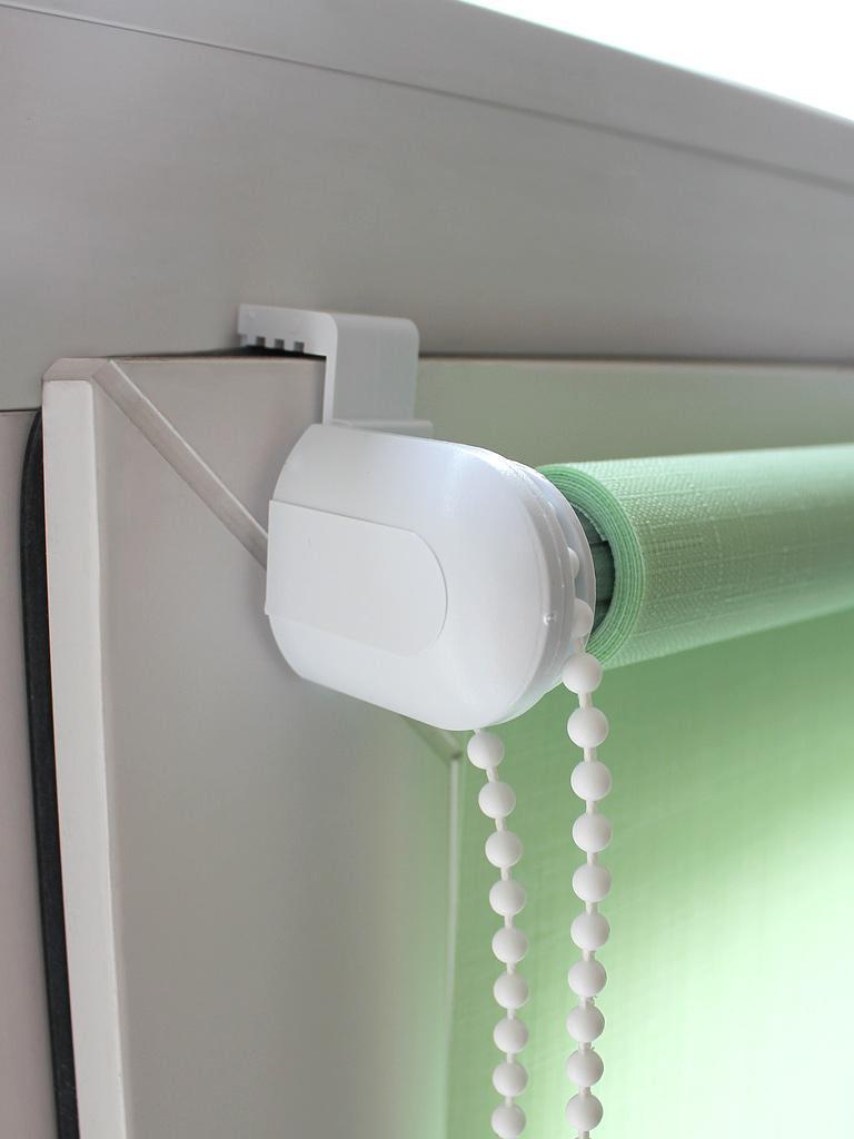 Крепление рулонных штор МИНИ на Г-образные крючки на пластиковые окна - фото
