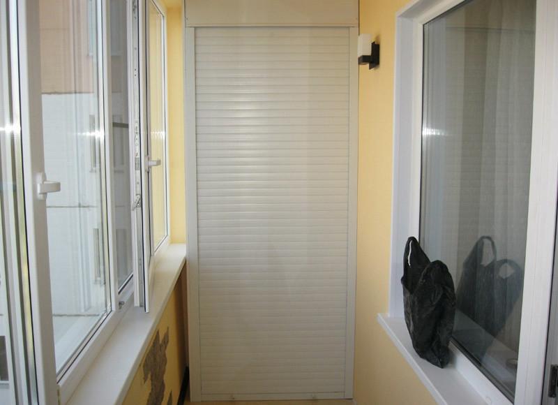 Ролеты на двери от 4150 руб - фото работ.