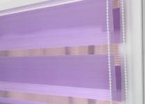 Рулонные шторы День-Ночь на пластиковые окна