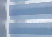Рулонные шторы Зебра на пластиковые окна - фото