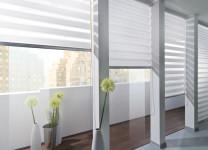 Рулонные шторы Зебра Мини в офисе - фото