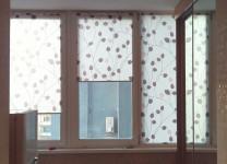 Рулонные шторы МИНИ на пластиковые окна - фото