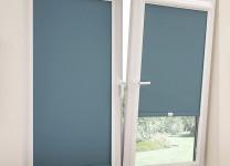 Рулонные шторы УНИ (UNI) с электроприводом - фото